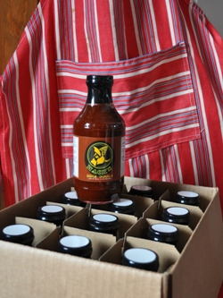 Buy a case of Hack's BBQ Sauce